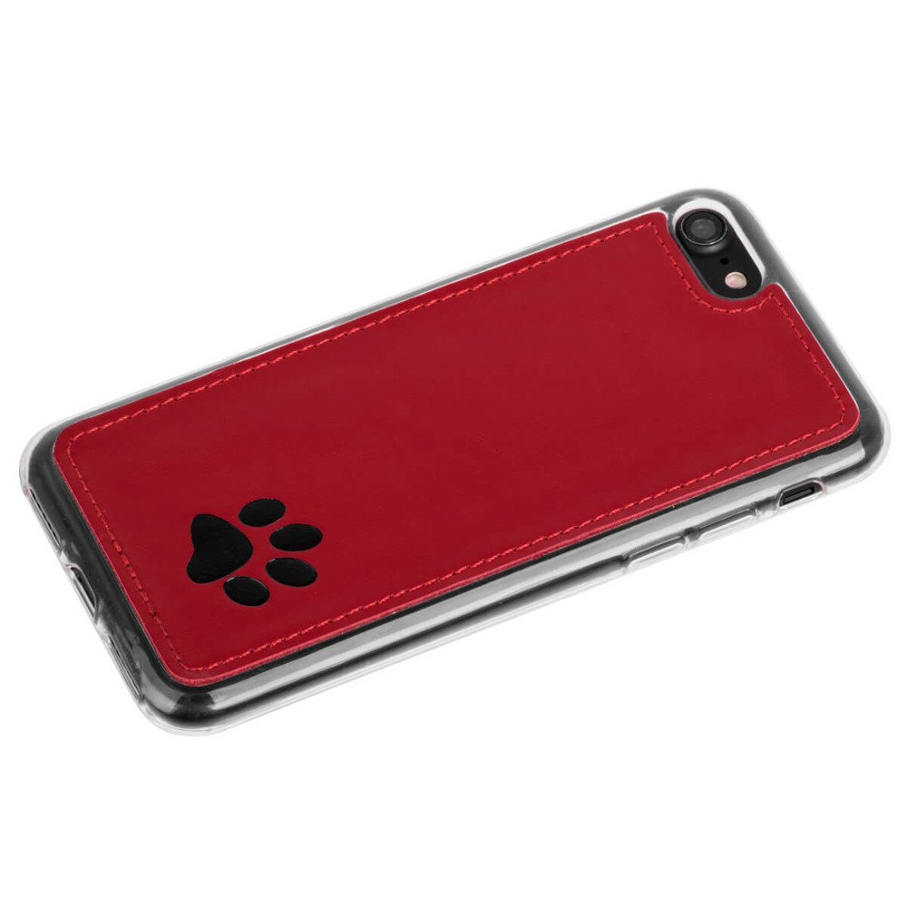 Surazo® Back case phone case Costa - Red - Paw
