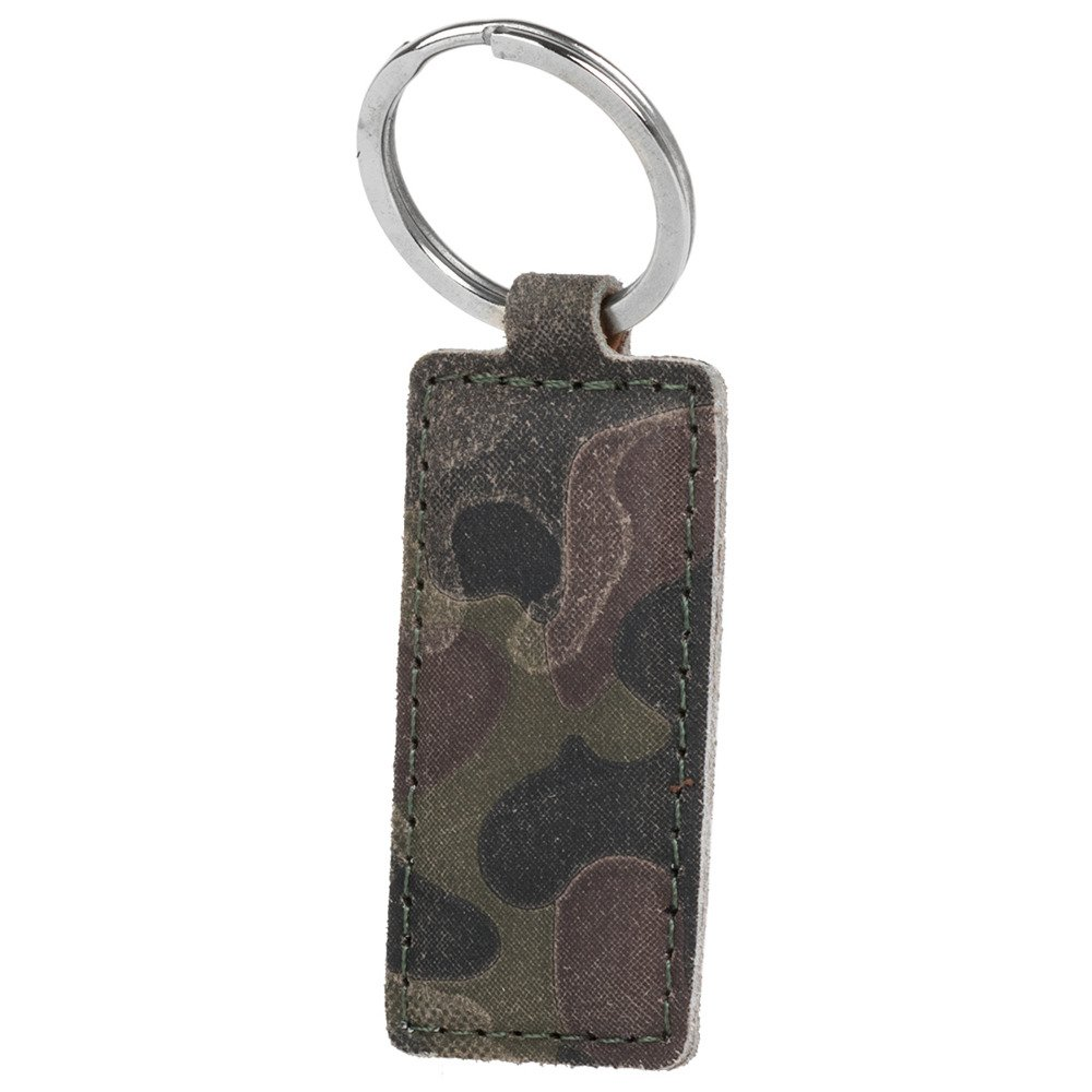 Surazo® Leather Wallet phone case Military - Green Camouflage