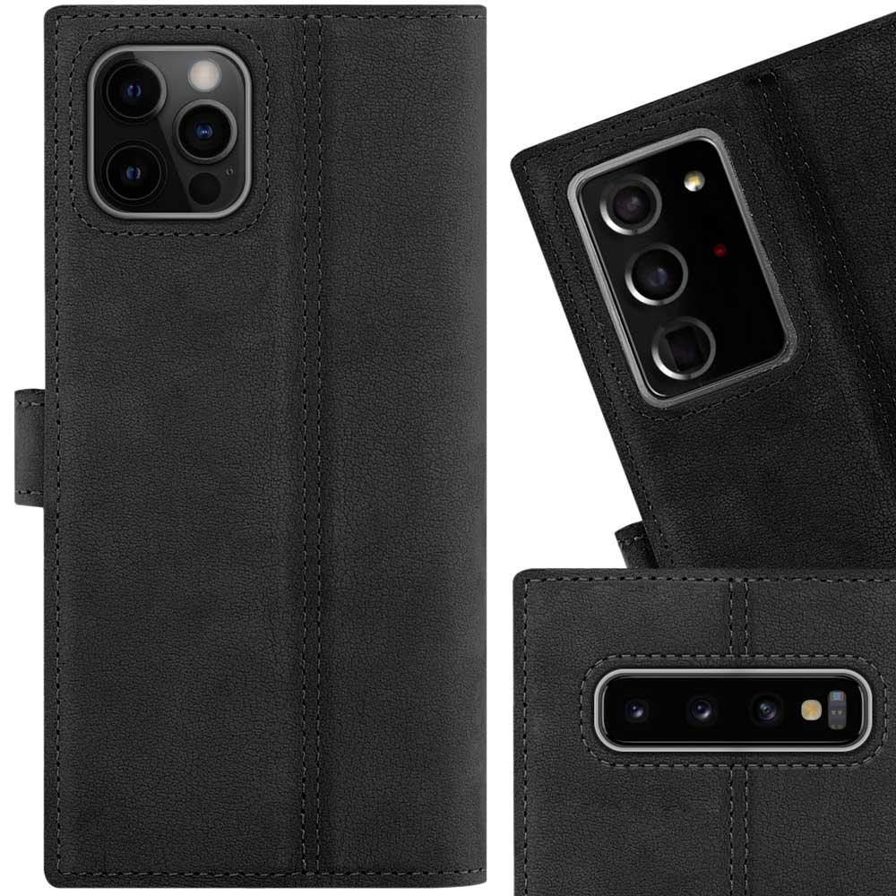Wallet case - Nubuck Black