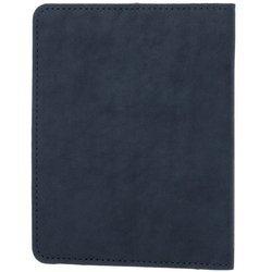 Slim Bifold Wallet RFID - Nubuck Navy Blue