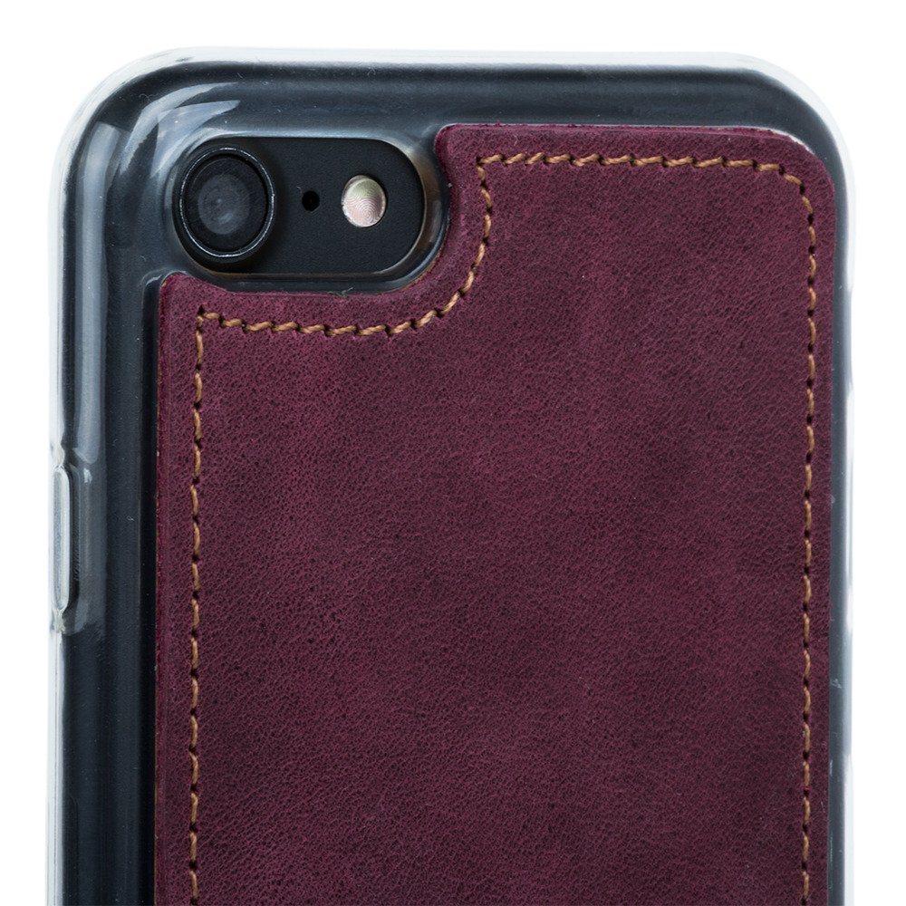 Back case - Nubuk Burgund