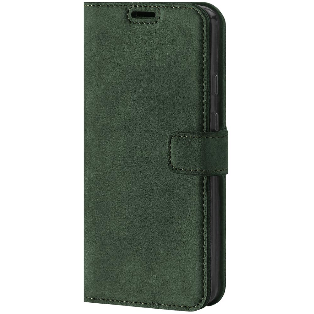 Surazo® Wallet Handy Lederhülle Nubuck - Dunkelgrün