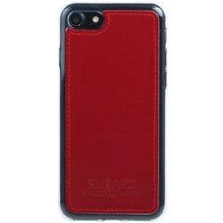 Surazo® Back case Lederhülle Costa - Rot