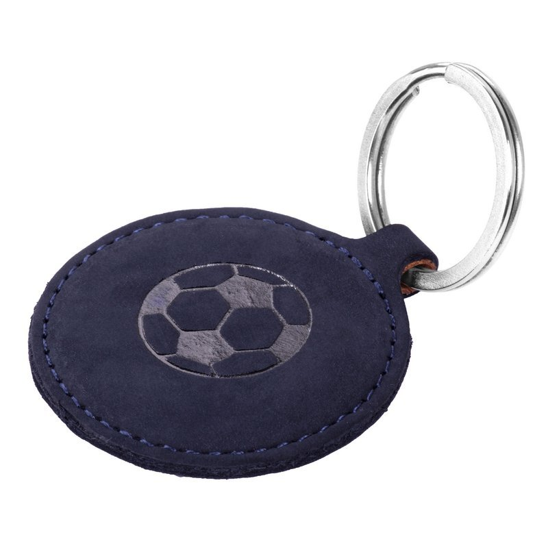 Surazo® Etui Smart Magnet RFID - Nubuk Granatowy - Piłka nożna