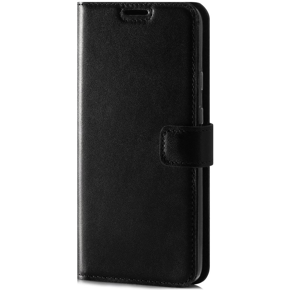 Surazo® Skórzane Etui Wallet case Costa Premium - Czarny